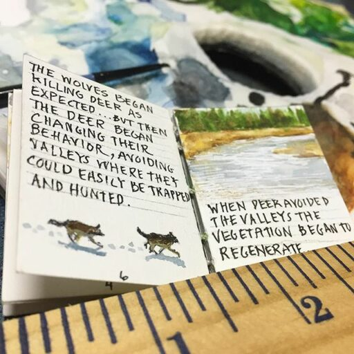 miniature paintings - Tiny Painting Step-by-Step