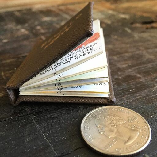 how to make a miniature book that opens - tiny book show