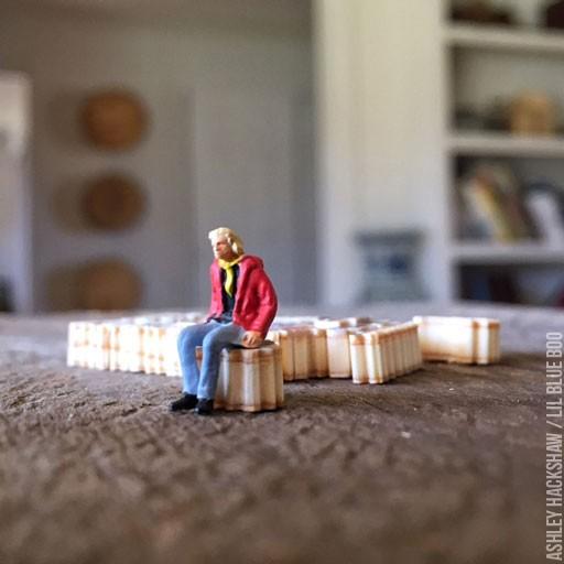 Miniature Sir Richard Branson