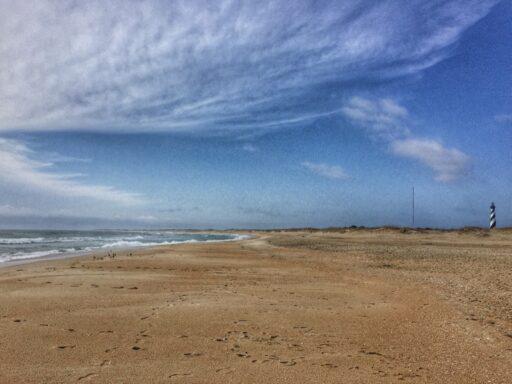 Cape Hatteras beach seashore