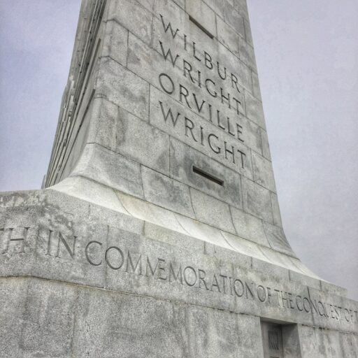 The Wright Brothers National Memorial in Kill Devil Hills