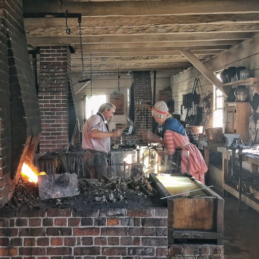 Blacksmith Shop at Colonial Williamsburg