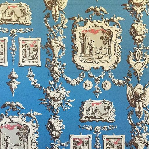 Wallpaper Textiles at Colonial Williamsburg