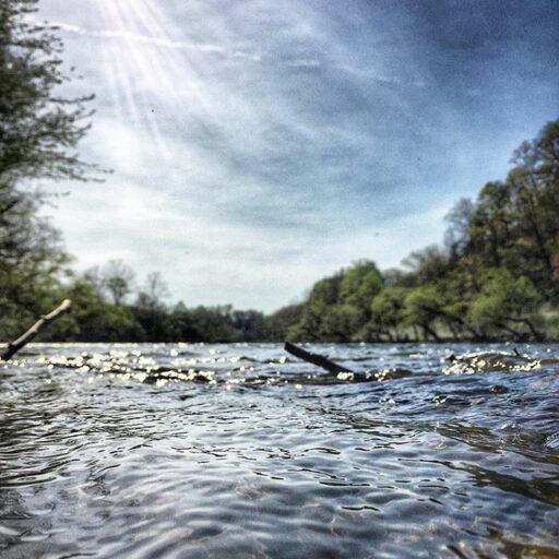Tuckaseegee River - Bryson City Small Town