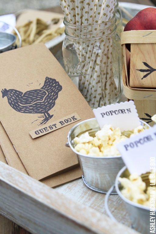 Rustic Party and Wedding Decor Ideas