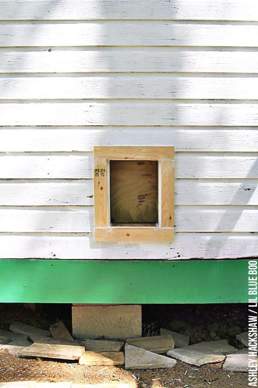 building backyard chicken coop