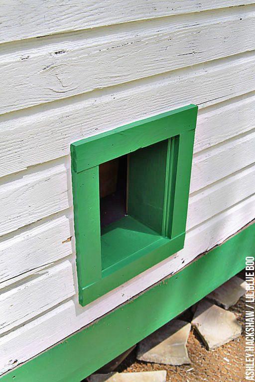 homemade chicken coop door opener