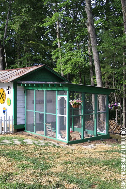 Chicken Coop Home Design Ideas, Pictures - Chicken Run Decor