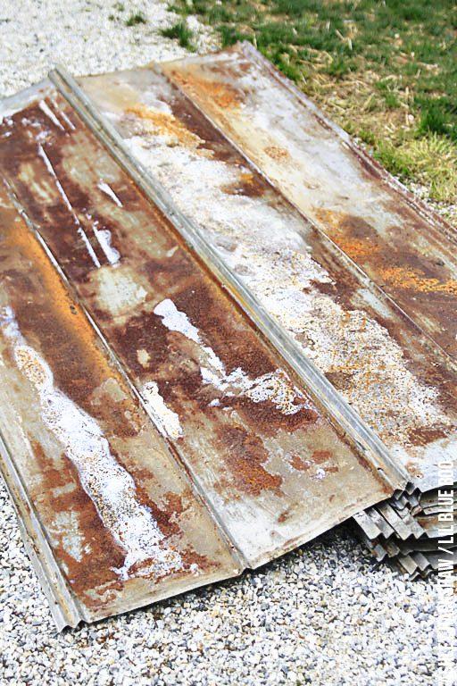 chicken coop roof ideas and construction - metal overhang