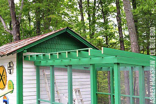 chicken coop roof ideas