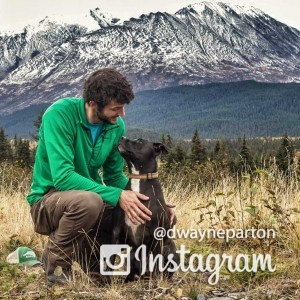 Dwayne Parton - Outdoor Photography and Blog - Dog in Wilderness Hiking