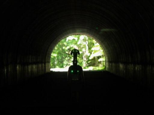 "Lake View ""Road to Nowhere"" Tunnel - Google Trekker Trail Views"
