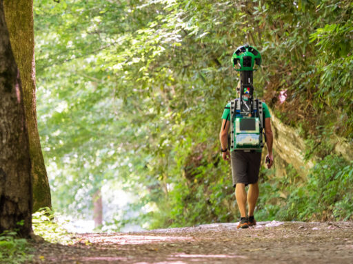 Google Brings Street View to Hiking Trails - Deep Creek Bryson City