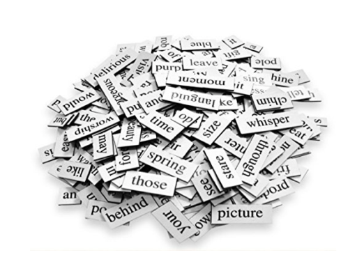 magnetic poetry - original set