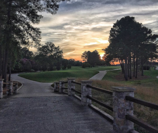 Carmel Country Club Sunset Charlotte, NC