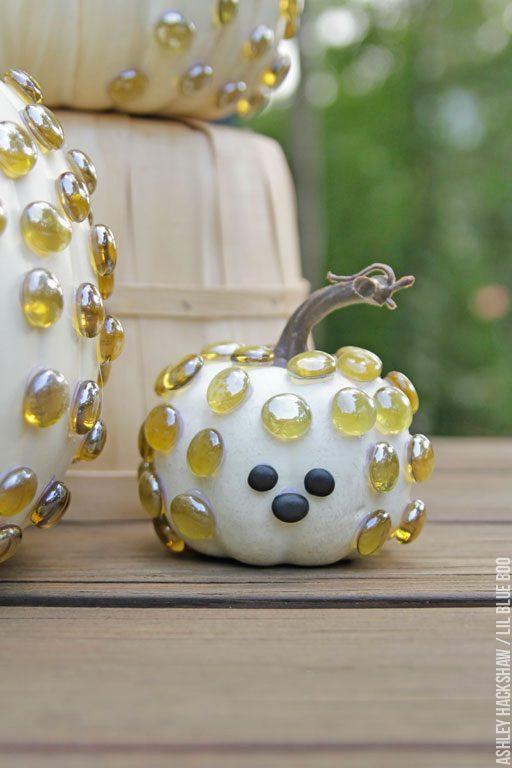 Baby Hedgehog pumpkin - Halloween Pumpkin Decorating