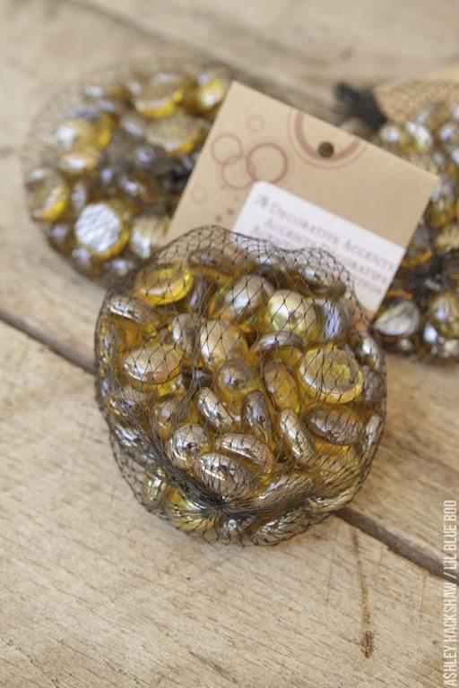 Glass Accents for Porcupine or Hedgehog pumpkins