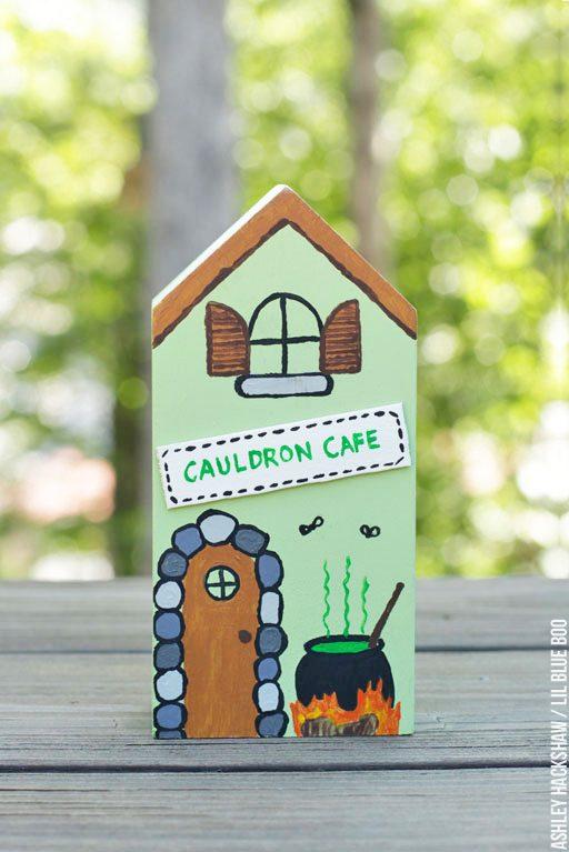 Cauldron Cafe Witch House - Halloween