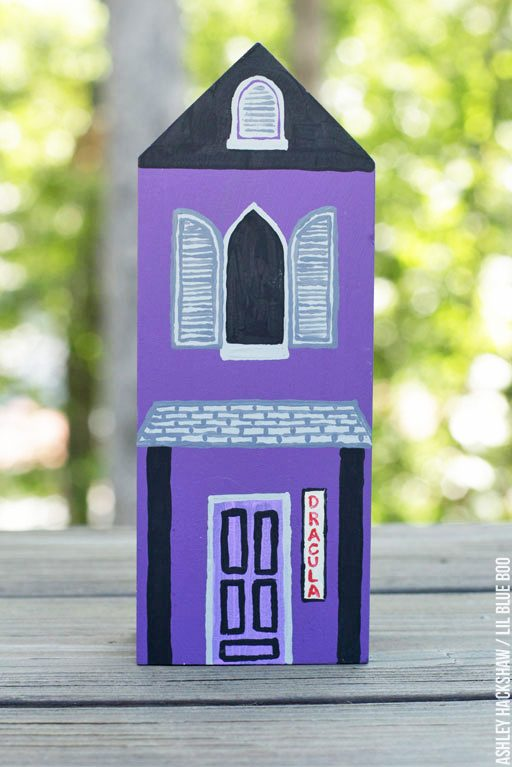 Halloween Village - DIY Dollar Store Craft - Dracula