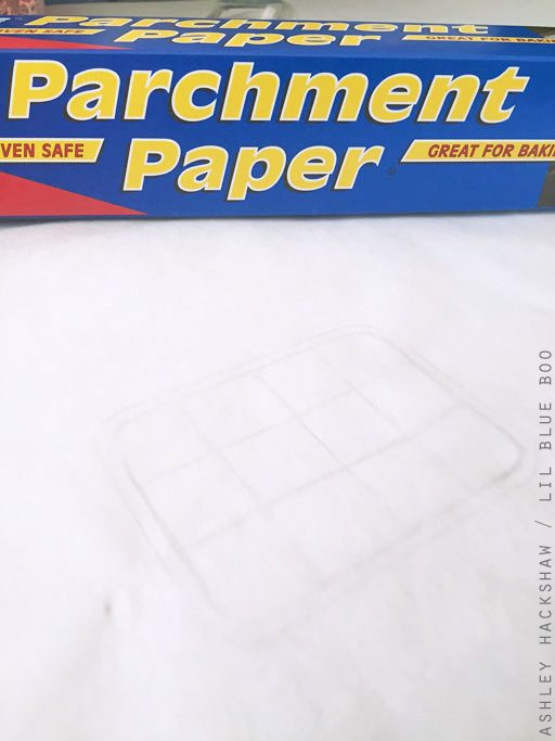 Crafty uses for parchment paper