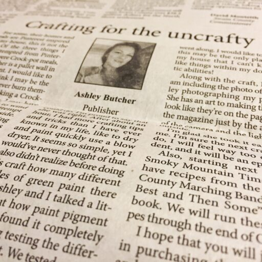 Smoky Mountain Times - Ashley Butcher - Crafting for the Uncrafty