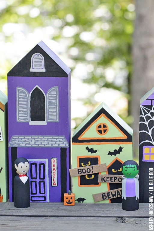 Indoor homemade halloween decor ideas