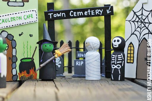 diy halloween decor pinterest