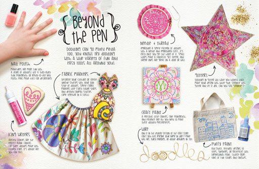 How to doodle - DIY doodling instruction
