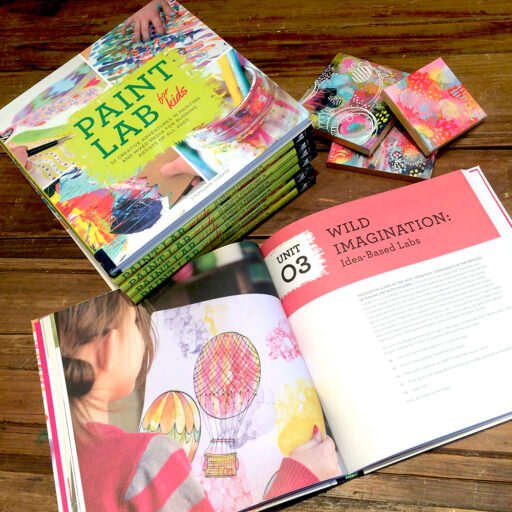 Painting instruction for kids