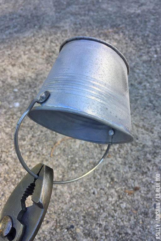small galvanized buckets michaels - where to buy small metal pails