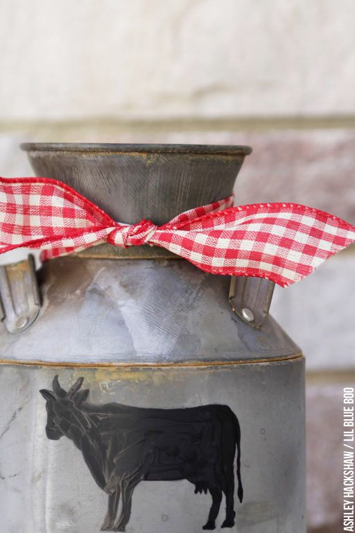Rustic farmhouse, Farmhouse and Dairy - Christmas Decor Tutorials