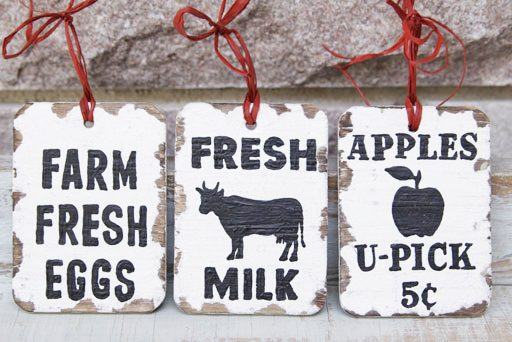 Country Farmhouse Christmas - DIY tutorial and download