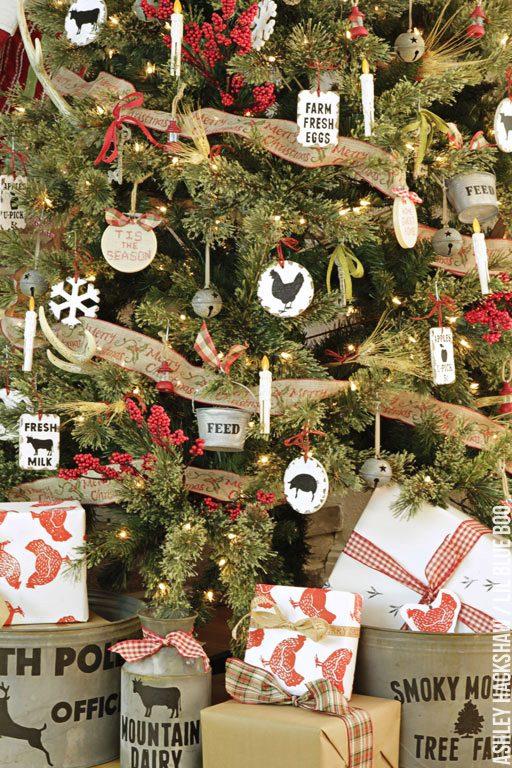 diy chicken themed ornaments