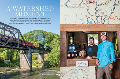 The River Culture of Bryson City - Our State Magazine Article