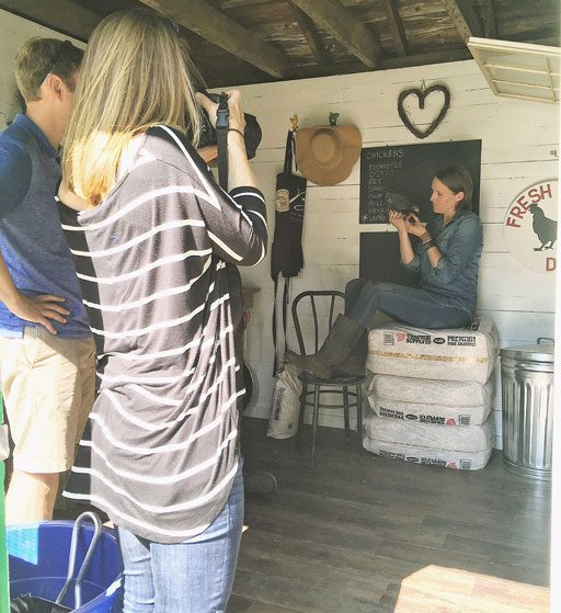 Behind the Scenes of Our State Photoshoot