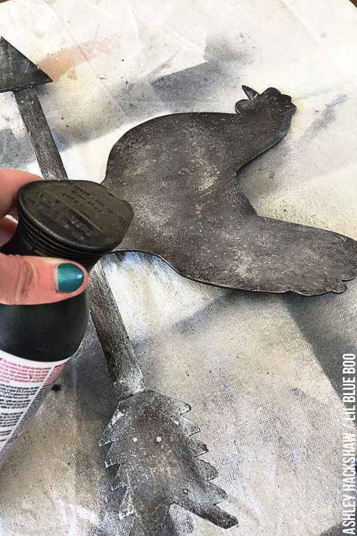 How To Create A Faux Galvanized Metal Finish - Easy Tutorial