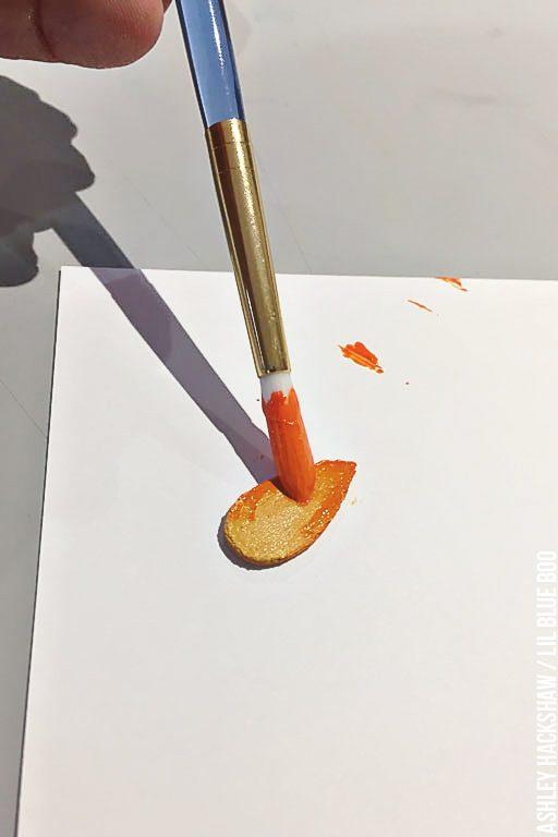 Making a fake flame