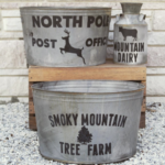 DIY Farmhouse Tubs and Milk Can