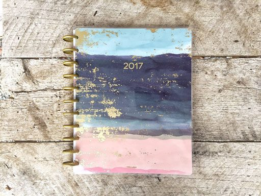 Getting Organized for 2017 - My new big happy planner - My Big Happy Planner