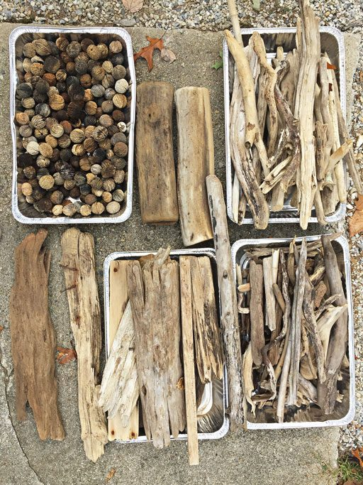 How to sterilize and prepare driftwood for painting