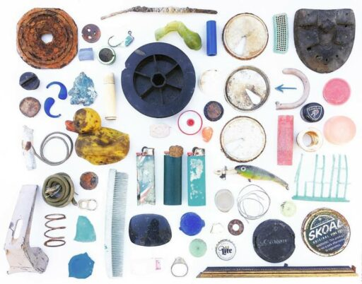 Found Object Collage