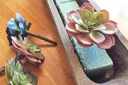 artificial succulents michaels - Realistic Succulents for lasting arrangements