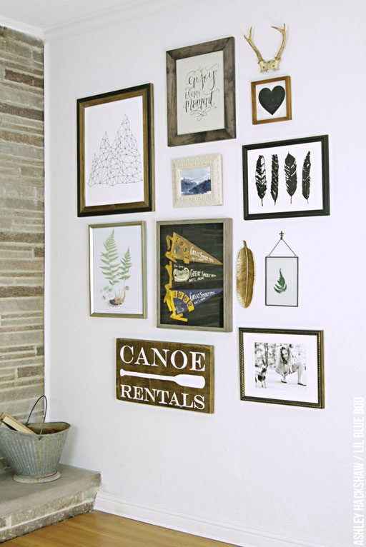 Gallery wall ideas for eclectic and beautiful walls