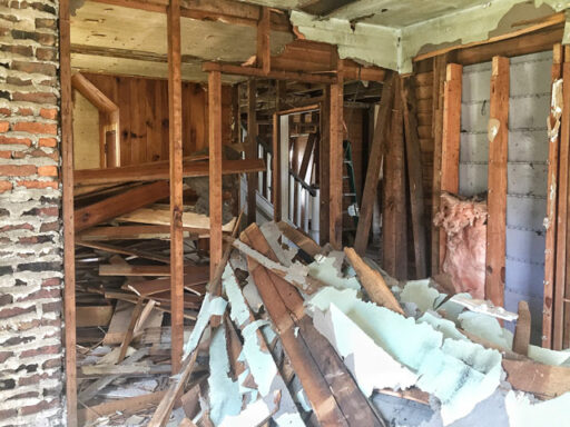 Old Farmhouse - Mountain Farmhouse renovation Smoky Mountains Bryson City, NC