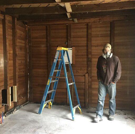Farmhouse dining room renovation