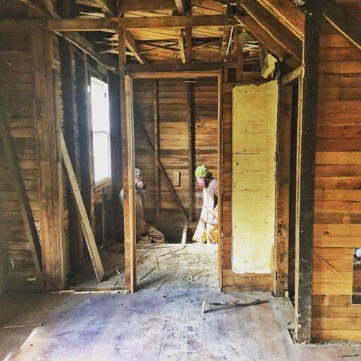 Old Farmhouse Renovation - Inside Demolition