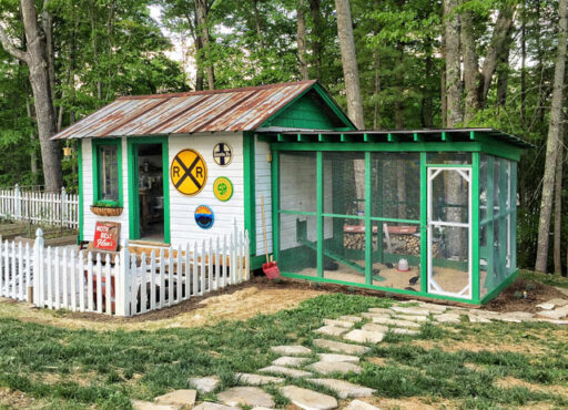 The Chicken Coop on Hospital Hill - Landscaping Progress