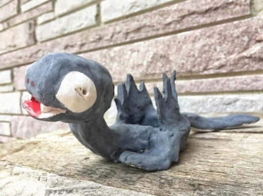 Children's Art - Dragon Pot