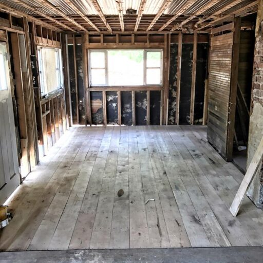 Bryson City Farmhouse Renovation - Restoring the 100 year old farmhouse