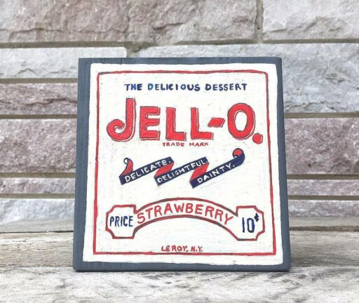 Vintage Jell-o painting